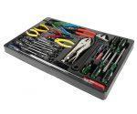 Набор инструментов для тележки JTC-3931 (1-я секция) 25 пр.