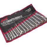 Набор ключей комбинированных 6-21мм 15 предметов в сумке
