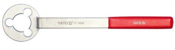 YT-0540 Ключ для фиксации шкивов помп VAG