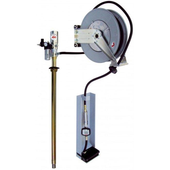 Настенное оборудование для раздачи масла из бочек 180/220 кг.