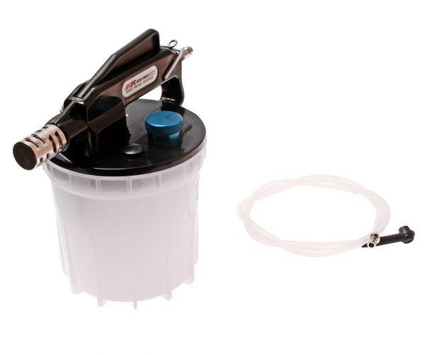 Устройство для откачки тормозной жидкости пневматическое