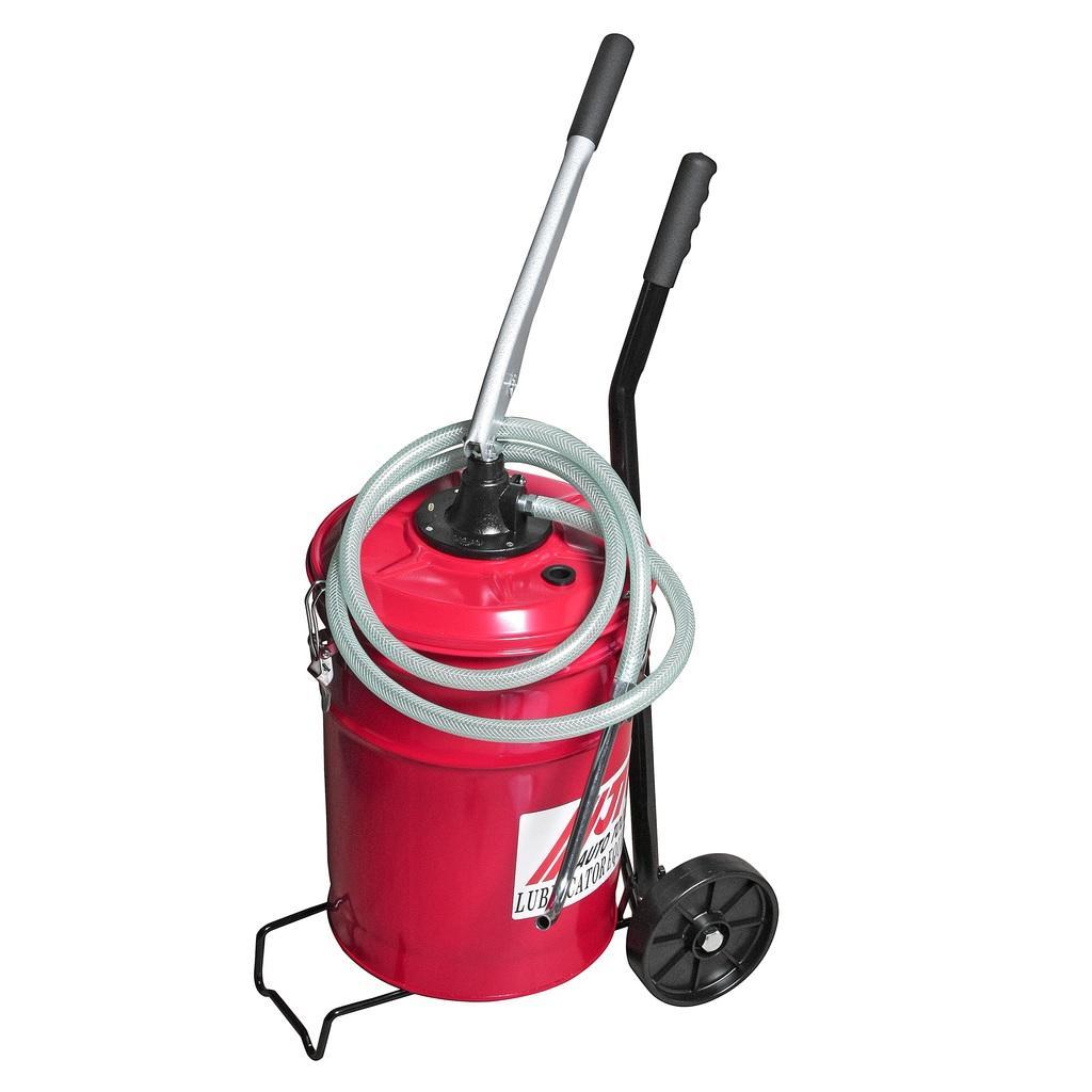 JTC-1033 Установка для подачи масла ручная, емкость 20л
