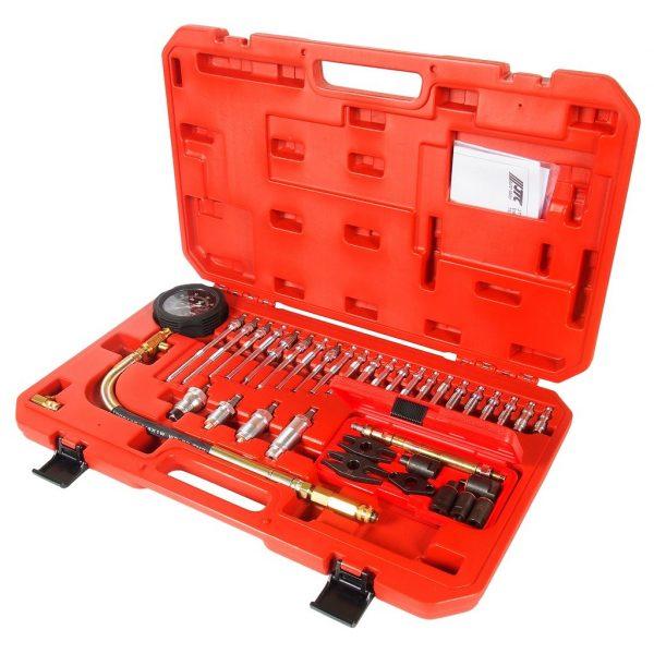Компрессометр для дизельных двигателей с набором адаптеров (37ед