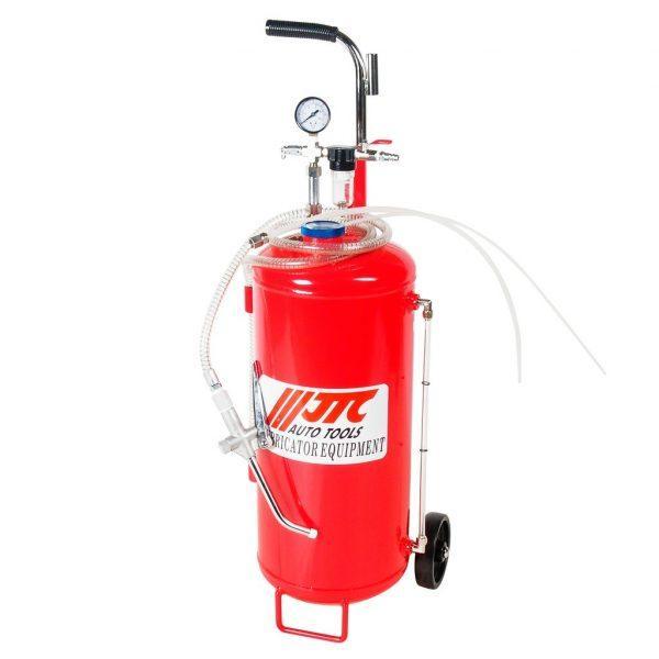 Установка для подачи смазки пневматическая, емкость бака 25л