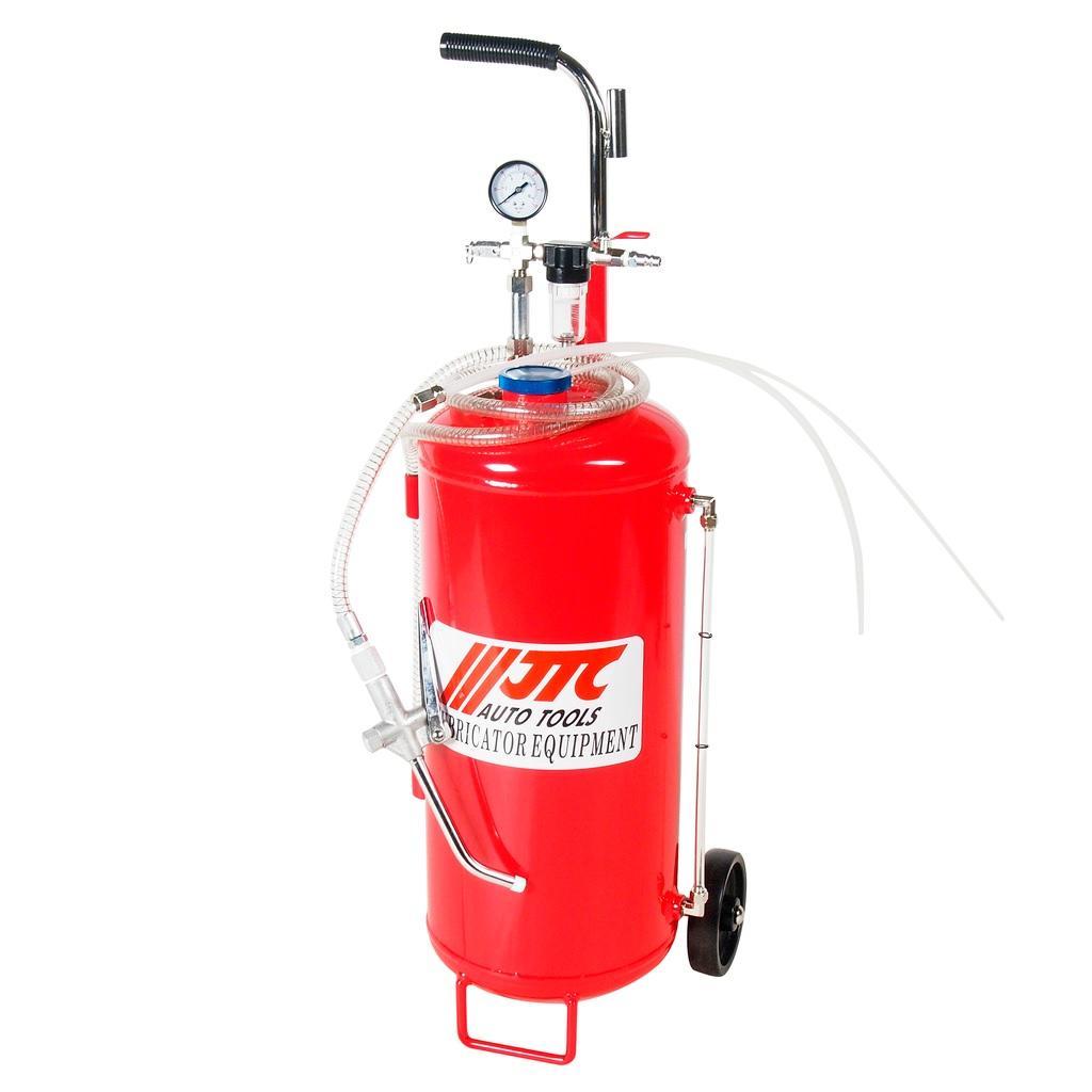 JTC-4632 Установка для подачи смазки пневматическая, емкость бака 25л