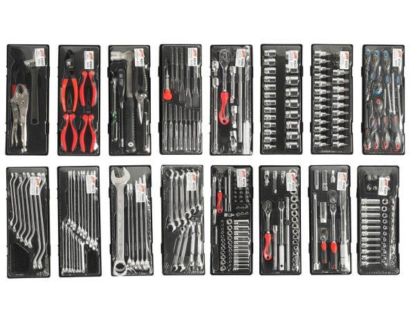 JTC-5021+279 Тележка инструментальная 4 секции 279 предметов