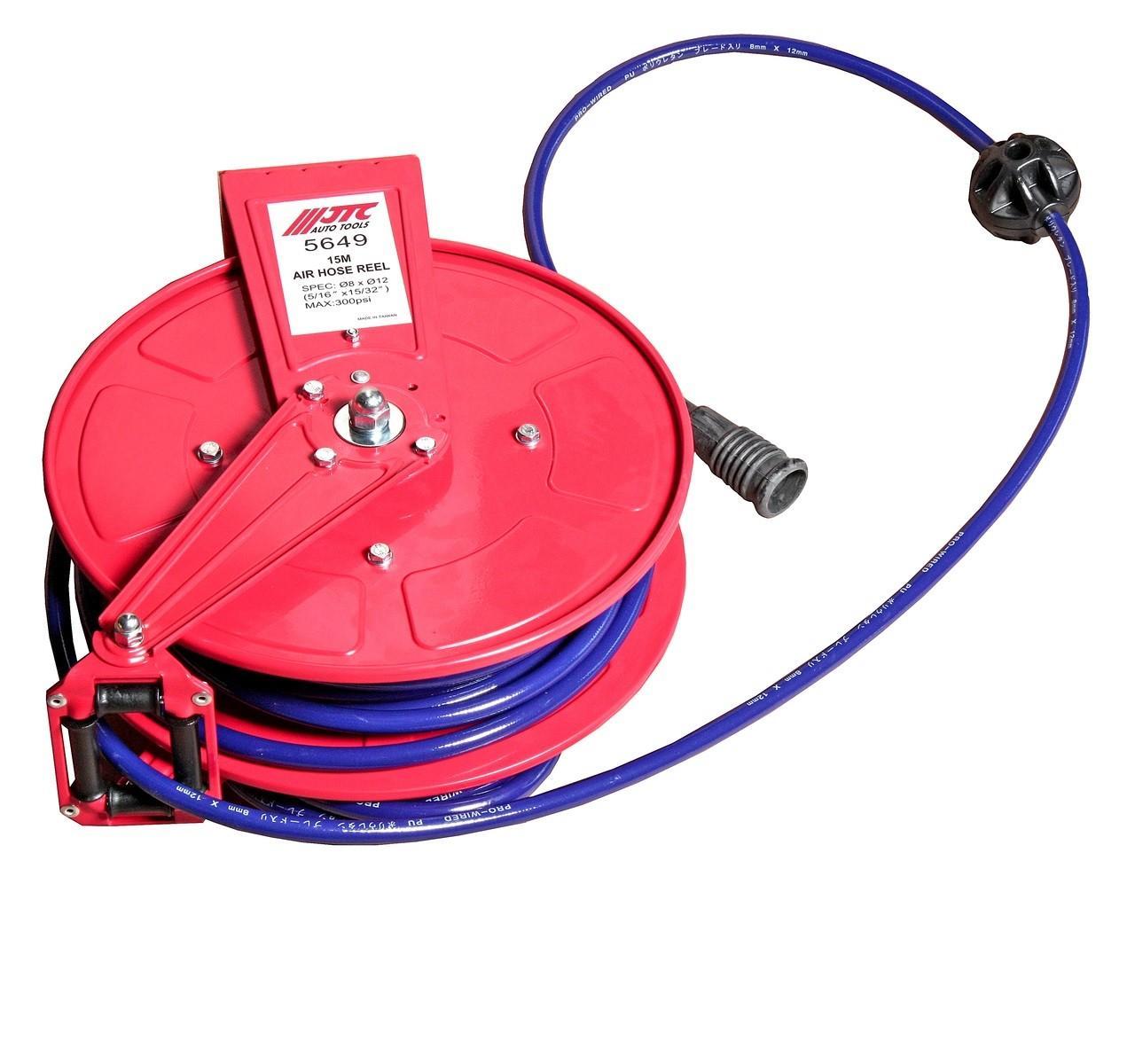 JTC-5649 Удлинитель для подачи воздуха, диаметр 8мм, длина 15м