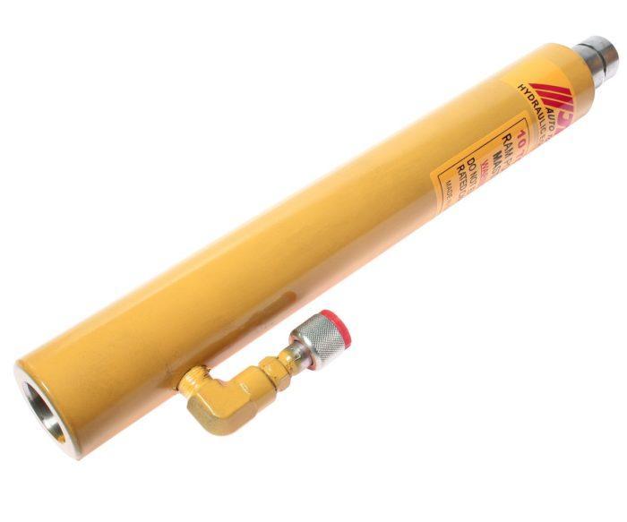 Гидроцилиндр силовой, усилие 10т, шток 250мм, высота 453-707мм