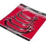 Набор ключей накидных С-образных 12-гранных 10-18мм, 5 пр.