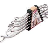 Набор ключей накидных 45град 12-гранных 10-24мм 6 предметов