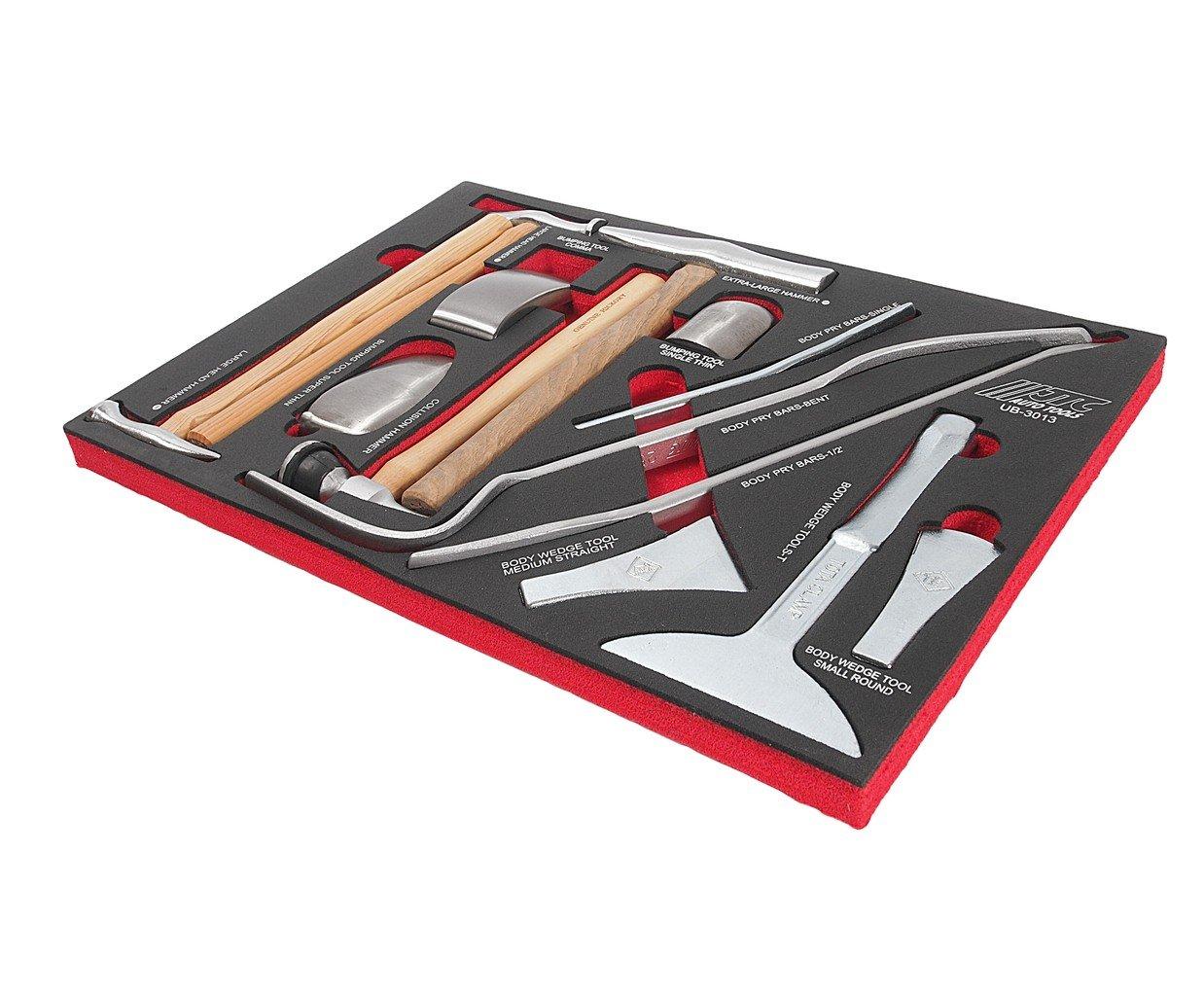 JTC-UB3013 Набор инструмента для кузовных работ, в ложементе 13 пр.