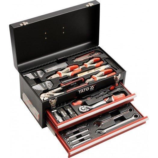YT-38951 Ящик с инструментом 80 предметов