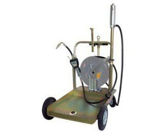 Оборудование для раздачи масла из бочек 180/220 кг. с катушкой
