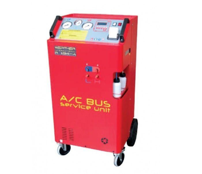 Установка для заправки автомобильных кондиционеров R134a для грузовых автомобилей и автобусов