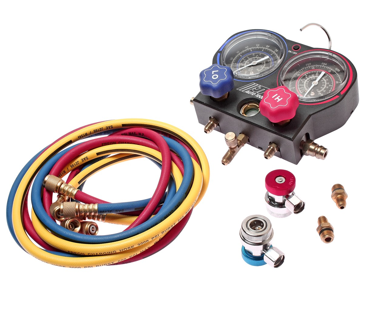 JTC-4499 Приспособление для обслуживания автокондиционера комплект