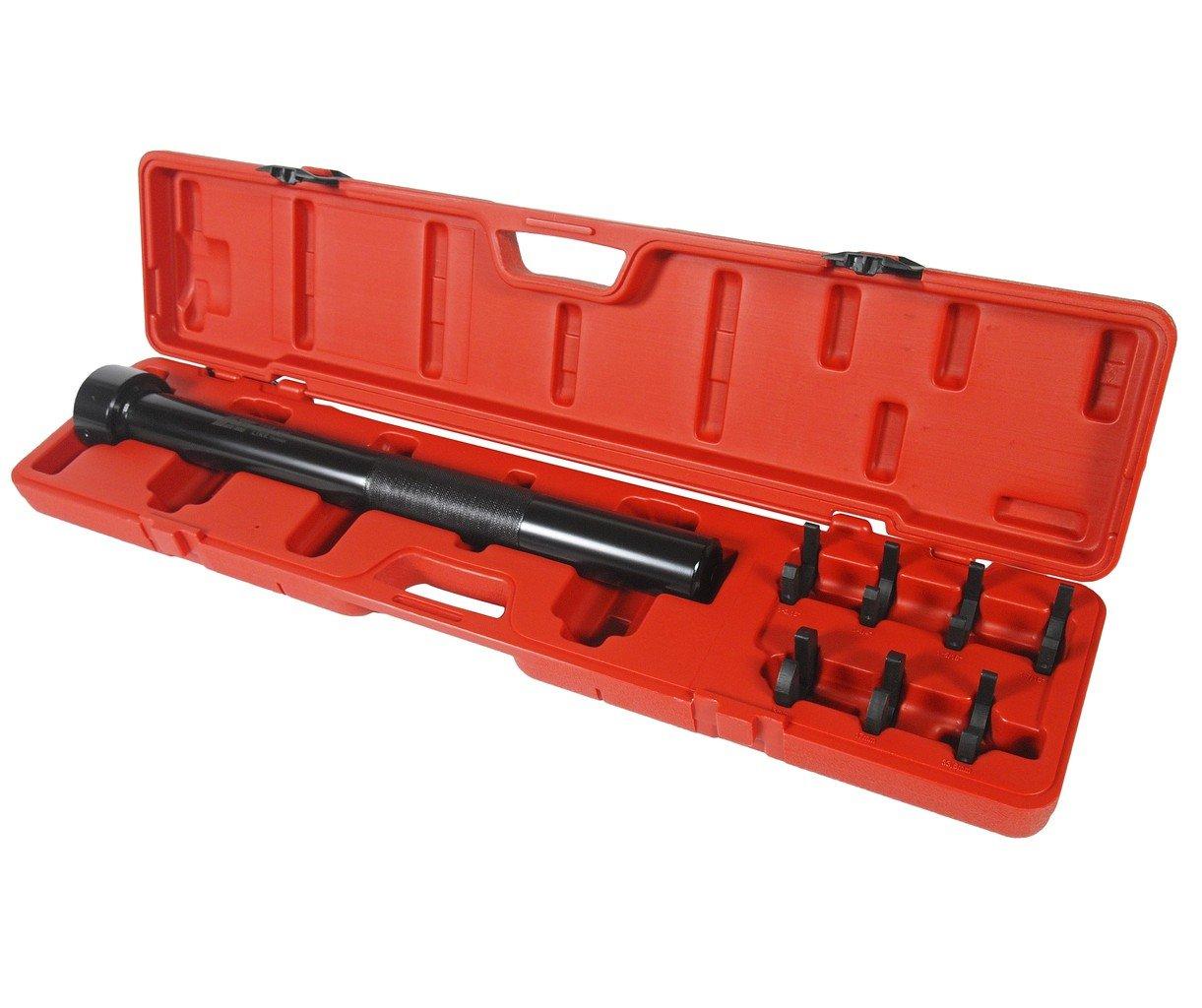 JTC-1836 Набор ключей сервисных для шарнира рулевой рейки (в кейсе) 8 пр.