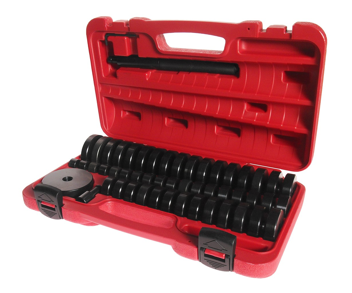 JTC-4856 Набор оправок для выпрессовки подшипников, втулок, сальников 18-74мм