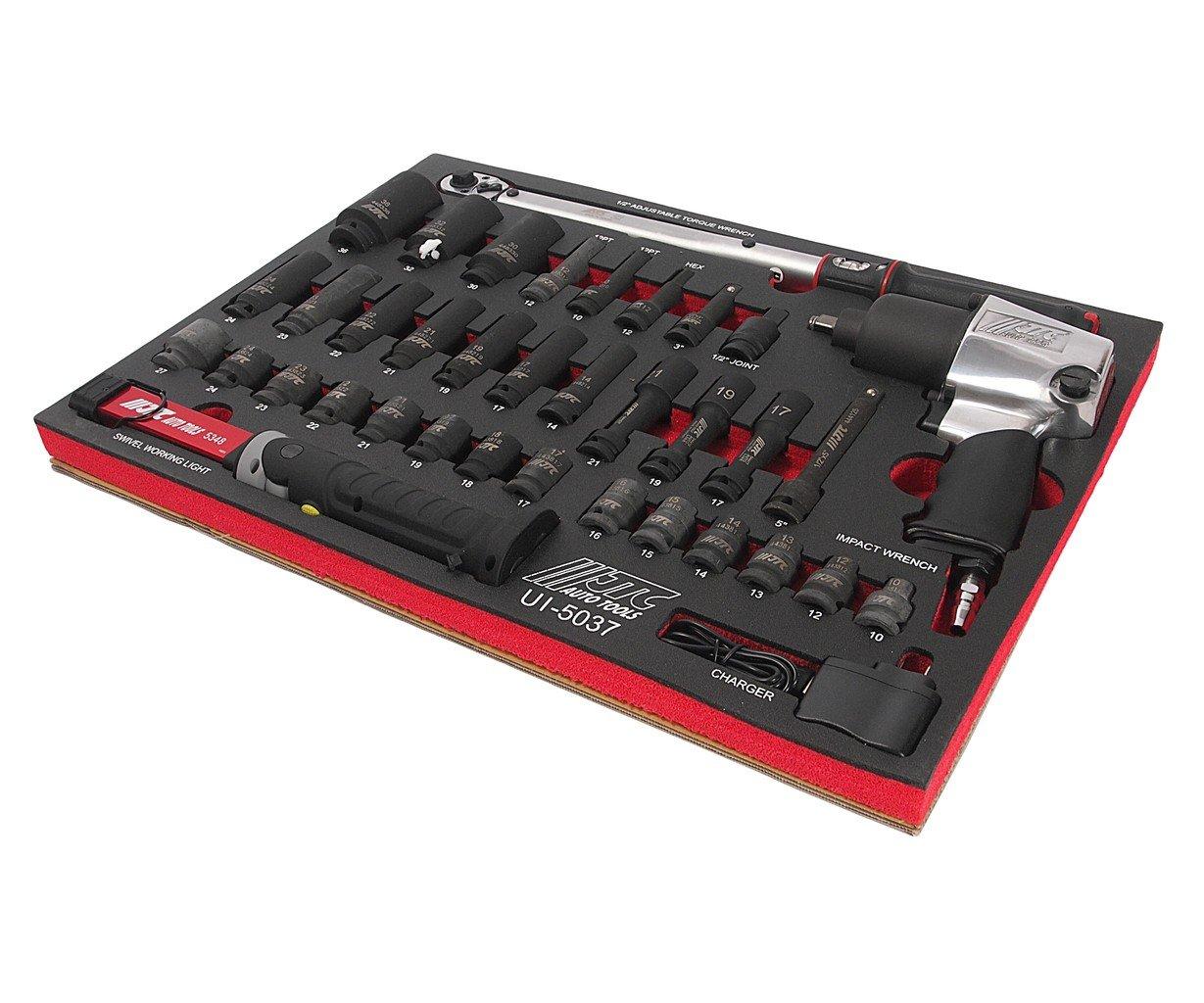 JTC-UI5037 Набор инструментов в ложементе для шиномонтажных работ 37 предметов