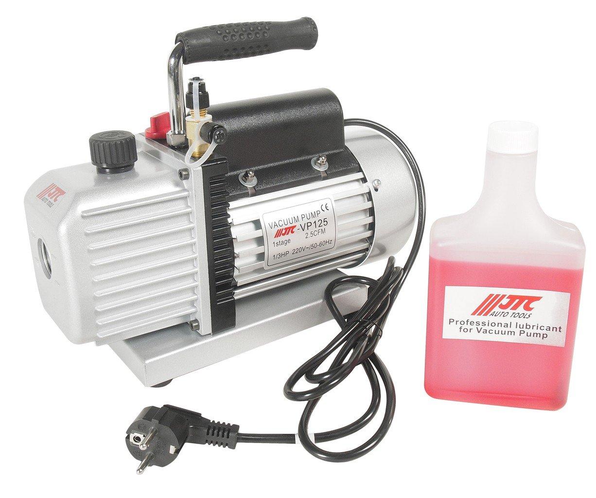 JTC-VP125 Насос вакуумный для хладагентов R-134a и R-12 220V, 50-60Гц