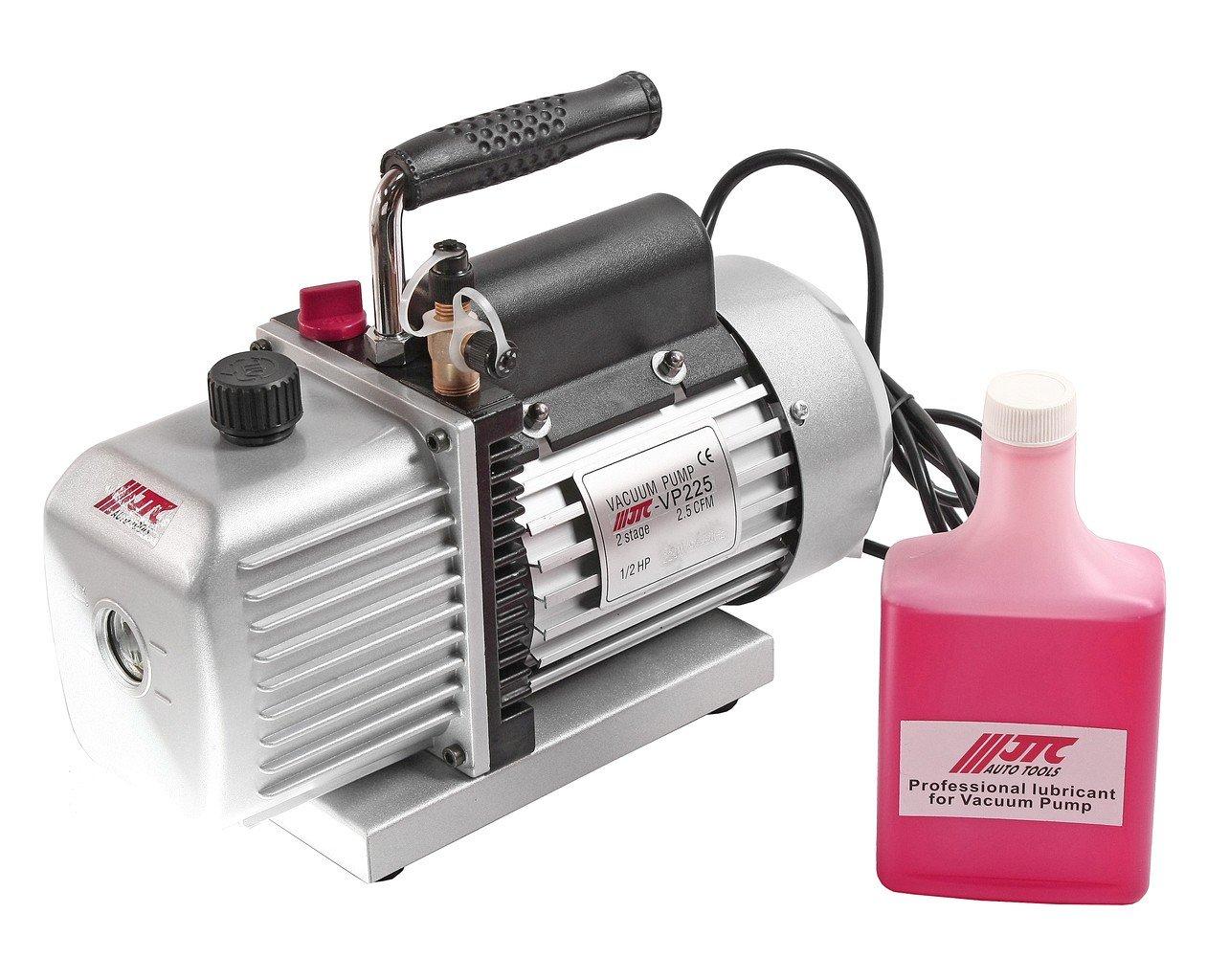 JTC-VP225 Насос вакуумный для хладагентов R-134a и R-12 220V, 50-60Гц