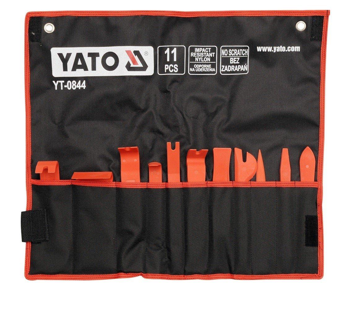 YT-0844 Набор съемников для обивки 11 предметов (сумка)