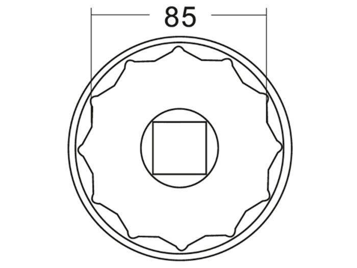 Головка ступичная для Iveco 85 мм