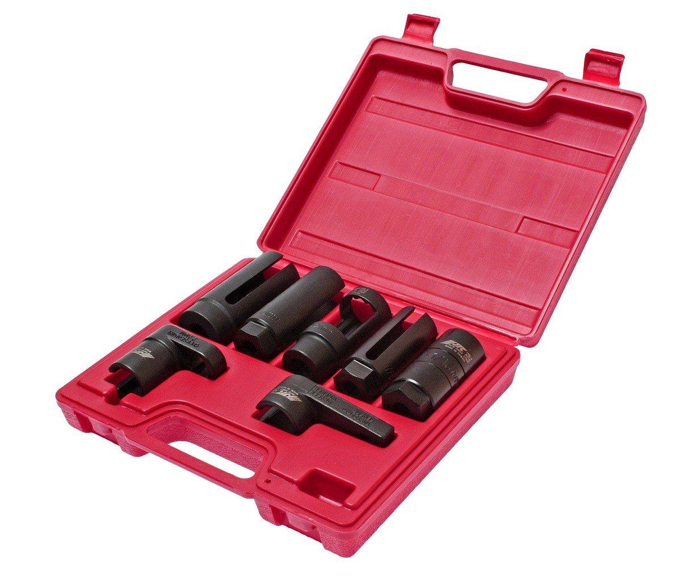 JTC-1425 Набор головок для кислородных датчиков (в кейсе) 7 предметов