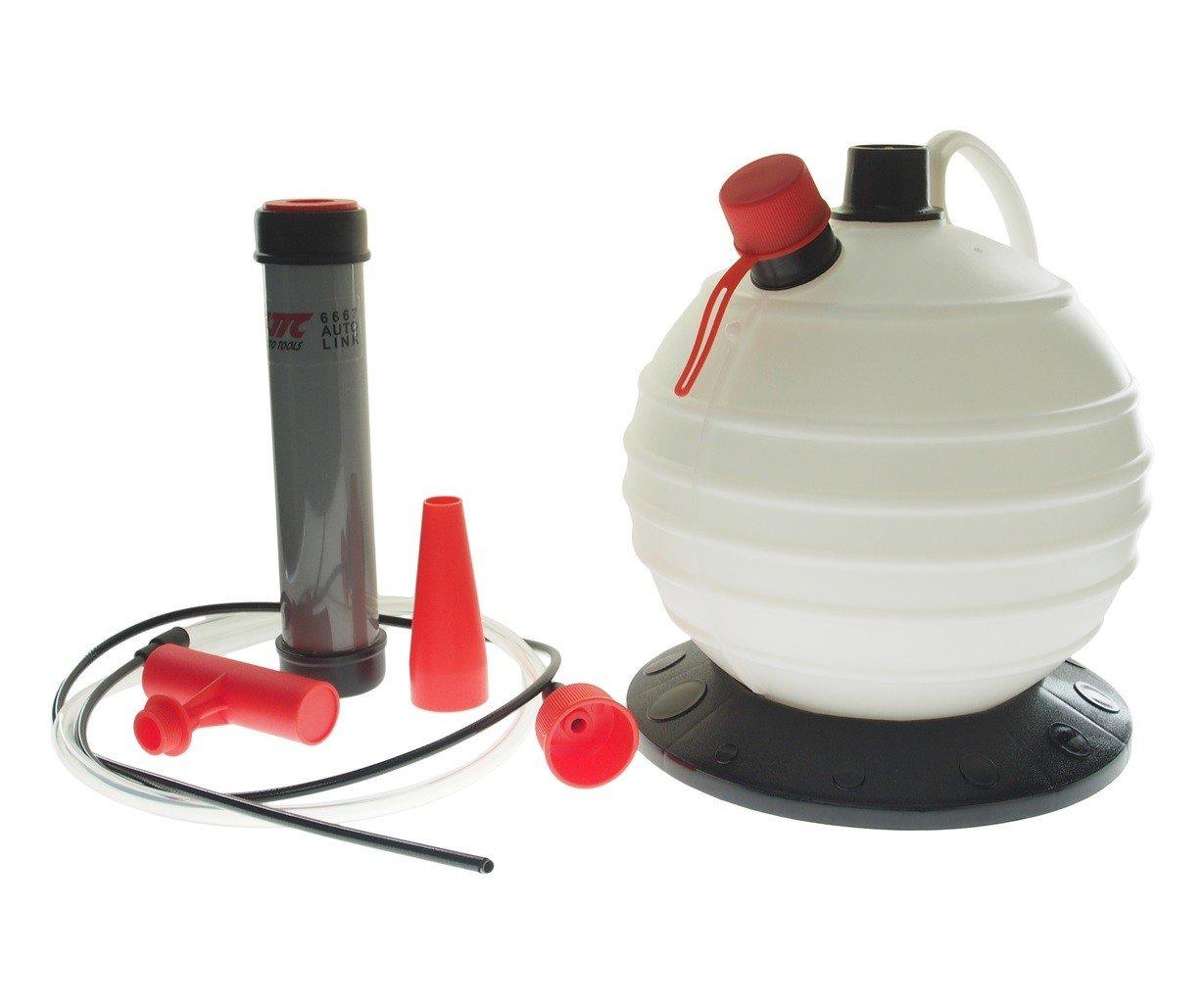 JTC-6667 Приспособление для откачивания масла через щуп, ручное 6л