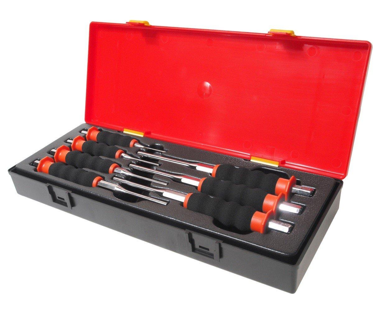 JTC-K8071 Набор выколоток с рукояткой 7 предметов