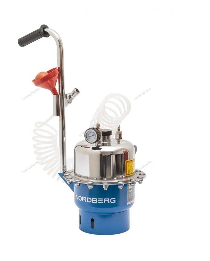 Nordberg BC5 Установка для прокачки тормозной системы и сцепления, 6 л.