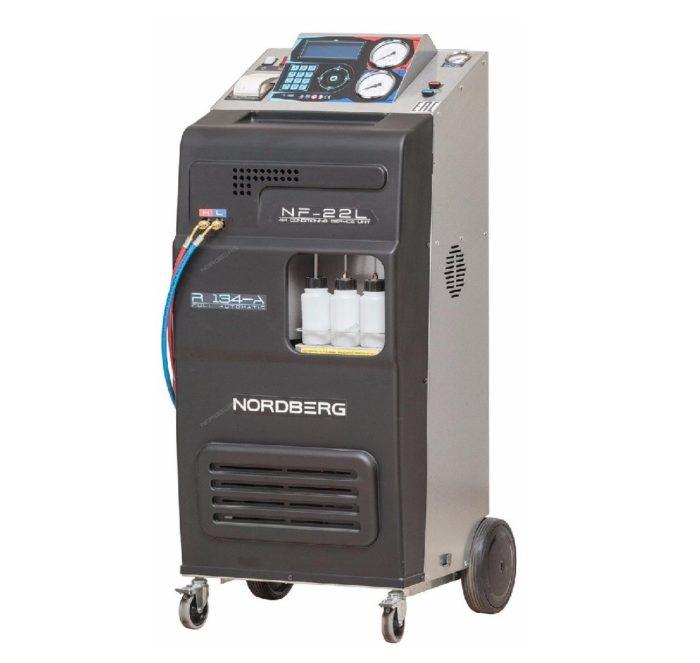 Автоматическая установка для заправки кондиционеров