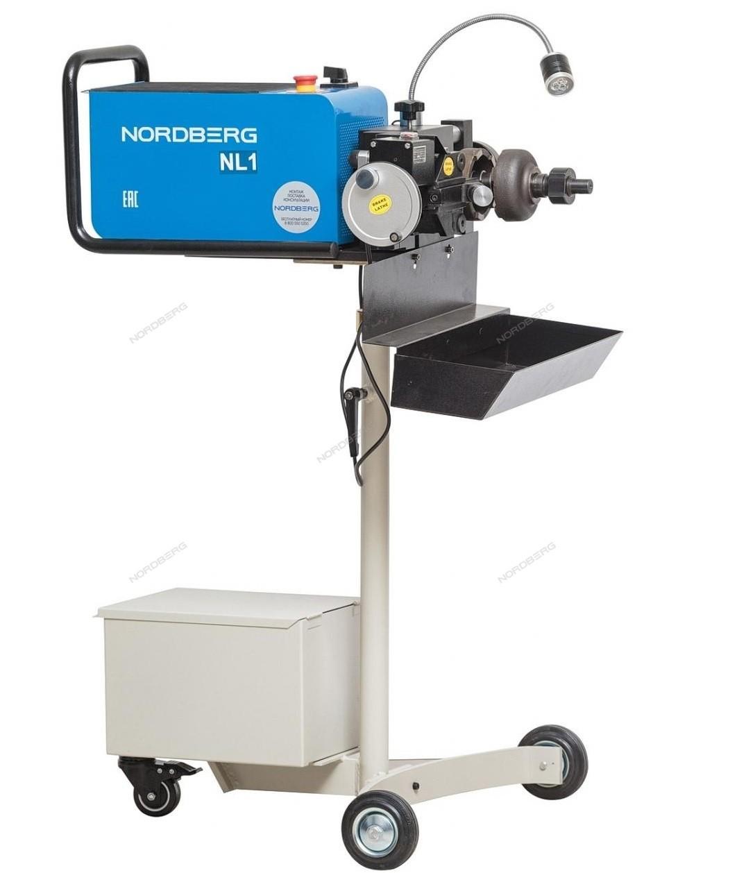 Norberg NL1 Станок для проточки тормозных дисков без снятия и со снятием