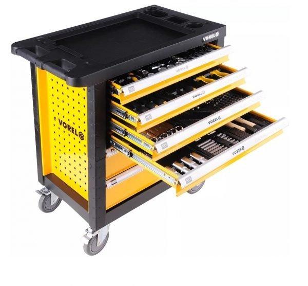 Тележка инструментальная с 6 ящиками с инструментом 177 предметов