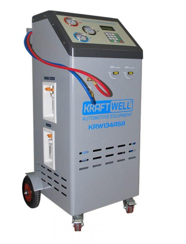 Станция полуавтоматическая для заправки кондиционеров KraftWell