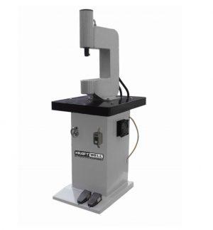 Станок для наклепки накладок на тормозные колодки (электро) KraftWell