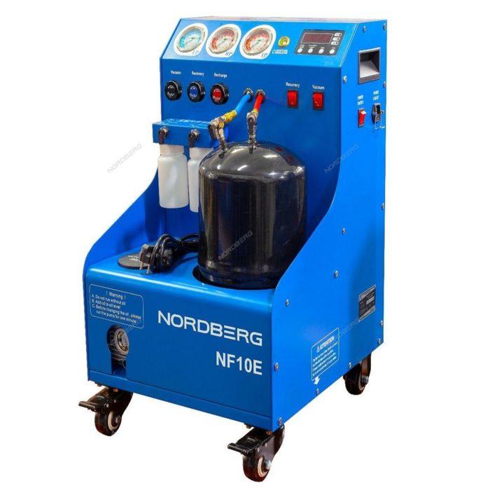 Nordberg NF10E Установка полуавтомат для заправки автомобильных кондиционеров