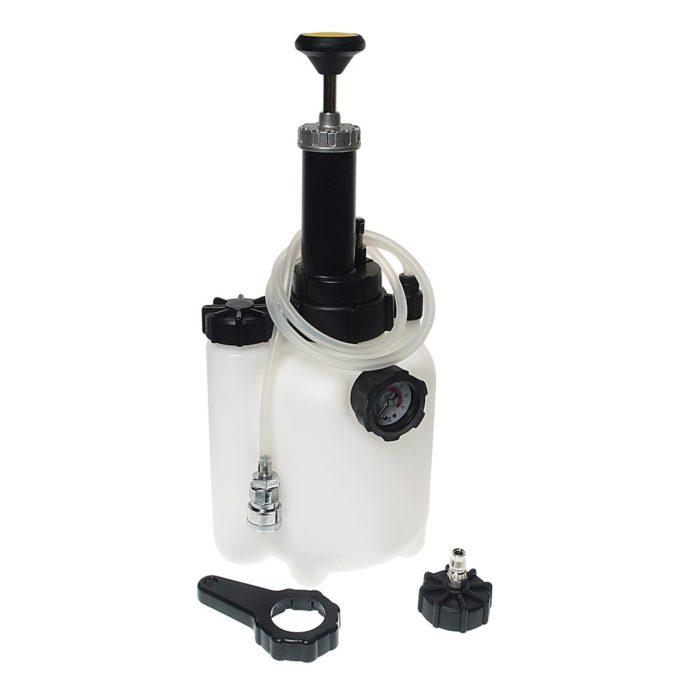 Устройство для замены тормозной жидкости ручное, объём 3 литра