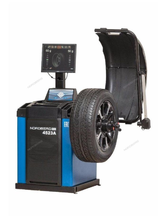 Балансировочный станок автомат с дисплеем