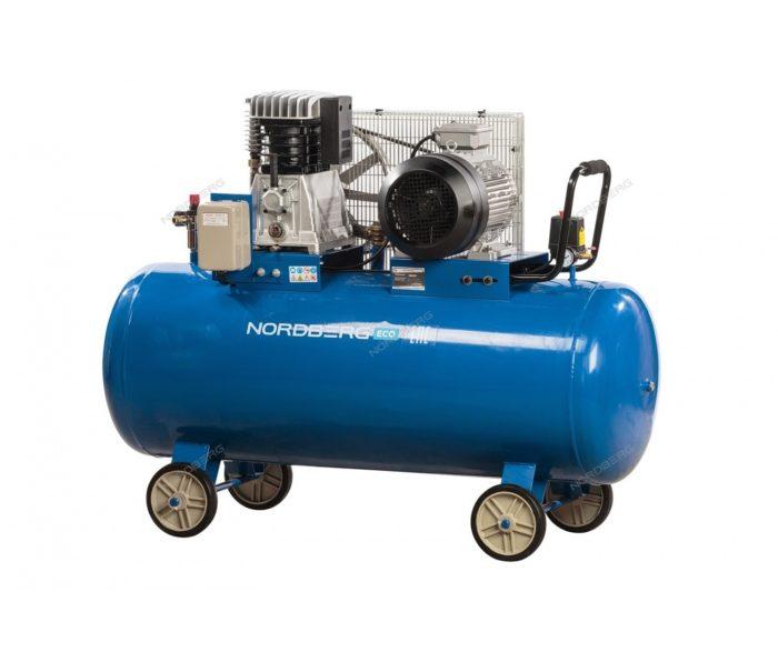 Компрессор поршневой с ременным приводом 300/810 л/мин.