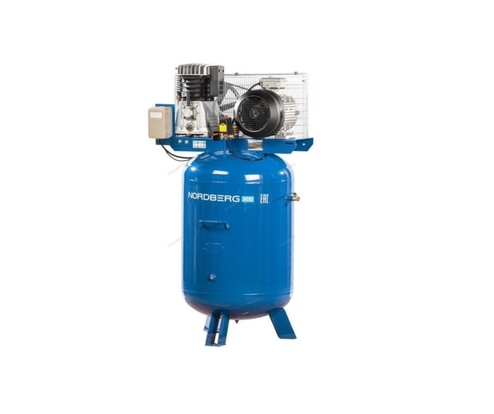 Компрессор поршневой с ременным приводом вертикальный, 300/810 л/мин.