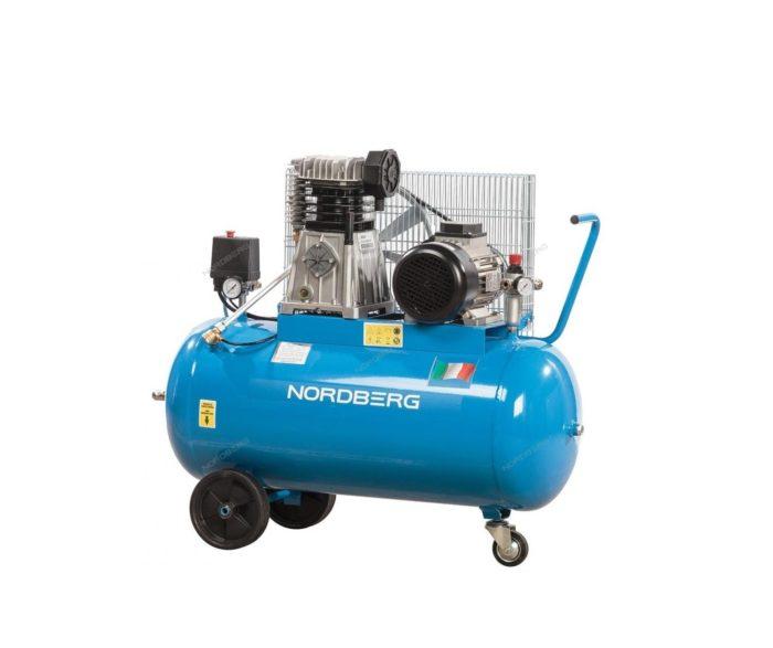 Компрессор поршневой с ременным приводом 100/480 л/мин.
