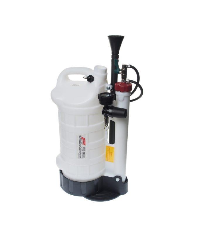 Установка для раздачи жидкости пневматическая, ёмкость 10 л.