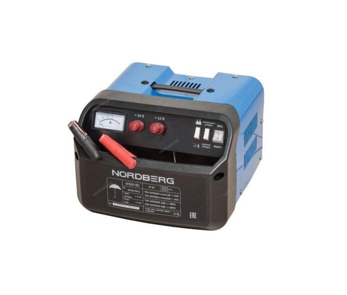 Устройство пуско-зарядное 12/24V макс ток 180A
