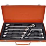 Набор ключей комбинированных 6-24 мм 16 предметов в металлическом кейсе