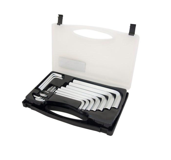 Набор ключей Г-образных HEX 2-22 мм