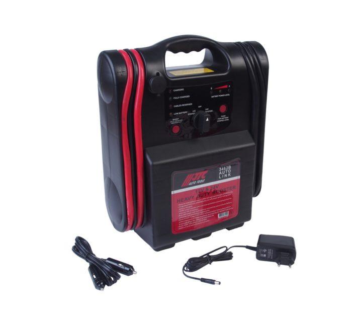 Пусковое устройство со встроенным аккумулятором 20Ач, максимальная сила тока 12В-4200А, 24В-2100А