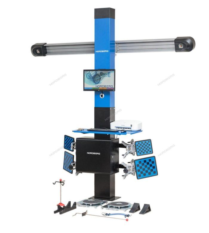 Стенд сход-развал с двумя камерами 3D модель для подъемников