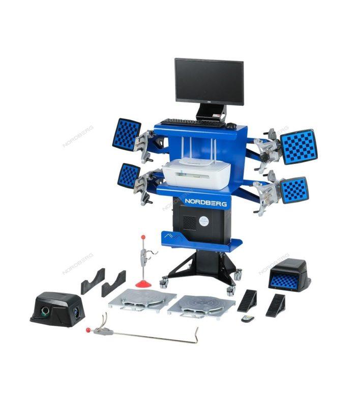 Стенды сход-развал с двумя камерами 3D модель для подъемников