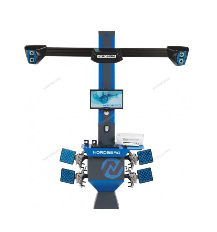Стенд сход-развал 3D модель четырехкамерный