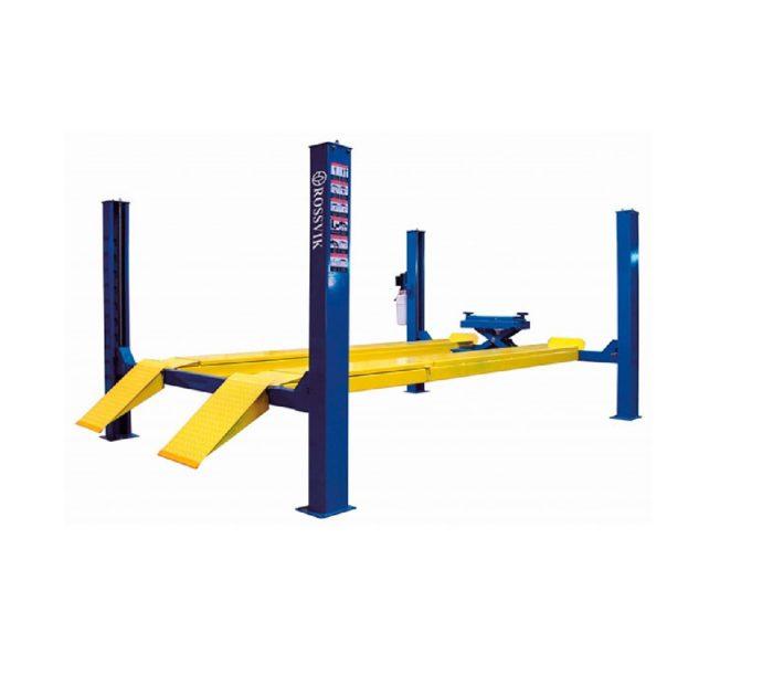 Подъемник четырехстоечный для сход-развала г/п 5,5 тоннПодъемник четырехстоечный для сход-развала г/п 5,5 тонн